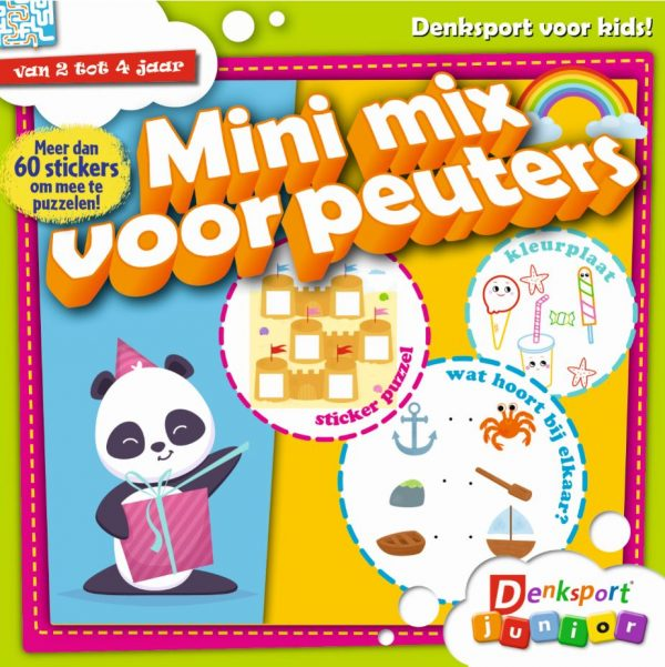 kindertijdschriften - mini mix voor peuters